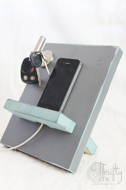 DIY Docking Station. Perfect gift for Father's Day!