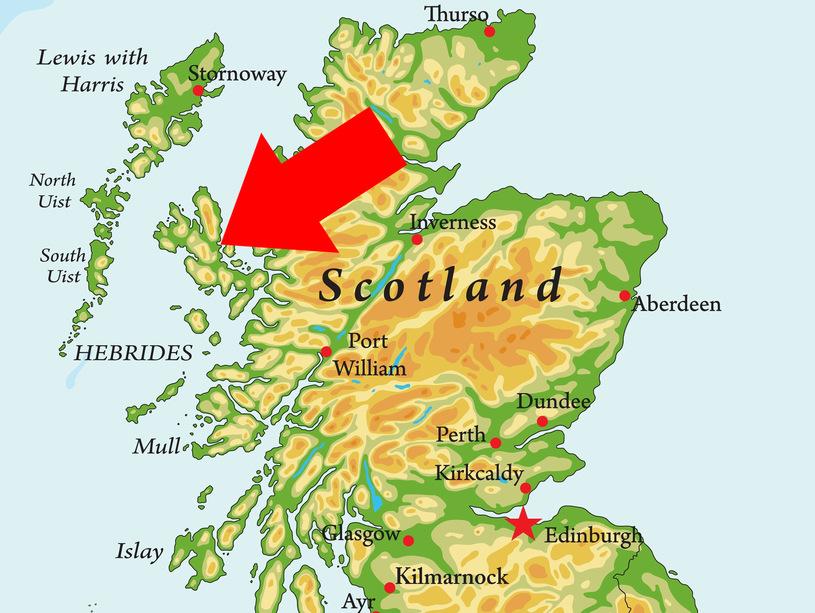 The Isle of Skye is part of the Inner Hebrides - Moniedism