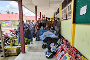 Berkah Ramadhan, SMAN 3 Tebo Kembali Bagikan Puluhan Paket Sembako