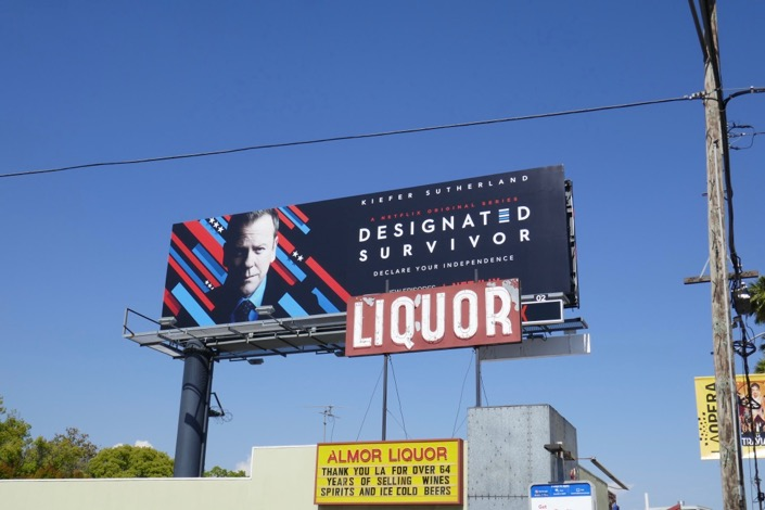 Designated Survivor season 3 billboard