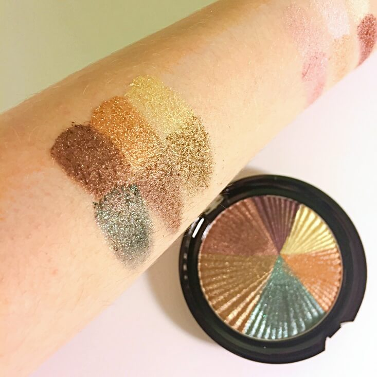 wet n wild color icon Eyeshadow Earth swatch