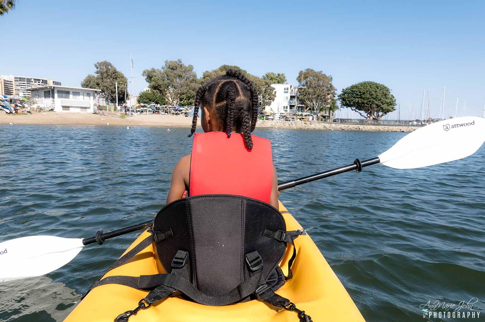 Child Kayaking