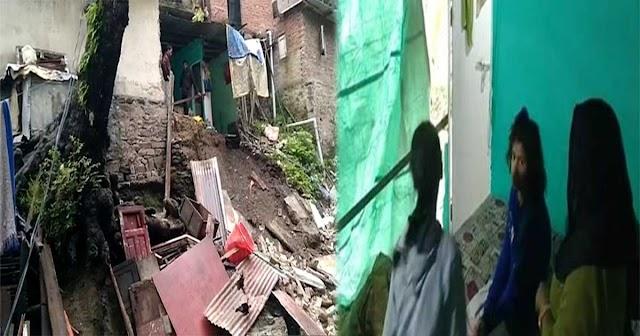 हिमाचल में बारिश ऐसी की राजधानी में ढह गया मकान: नौ साल की बच्ची दबी, हालत नाजुक!