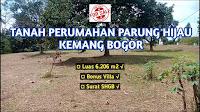 Jual Tanah Parung Hijau Bogor