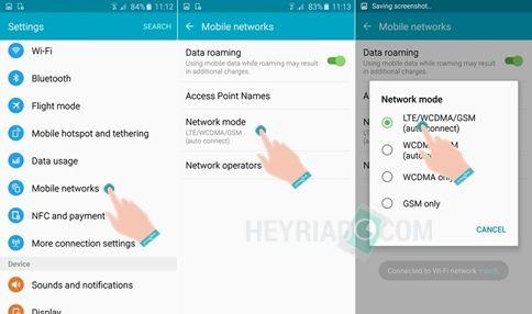 Cara Mengaktifkan 4G Samsung J7
