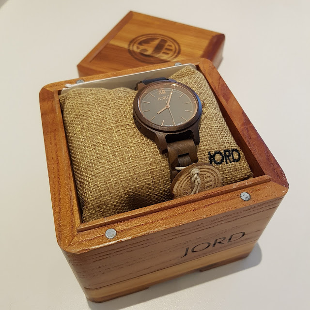 JORD Frankie 35 wood watch | Almost Posh