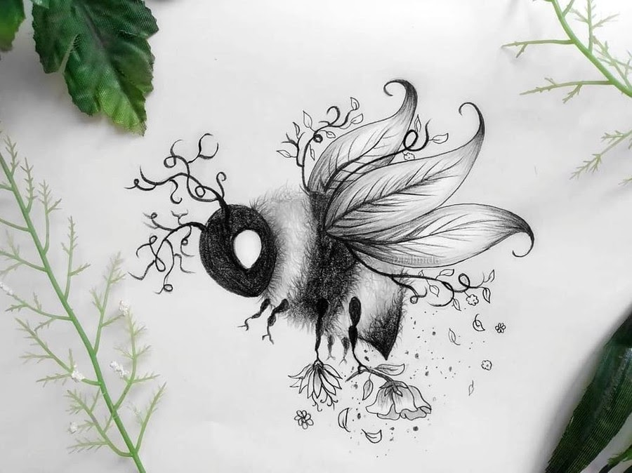 10-The-bumblebee-Lihnida-Dimeska-www-designstack-co