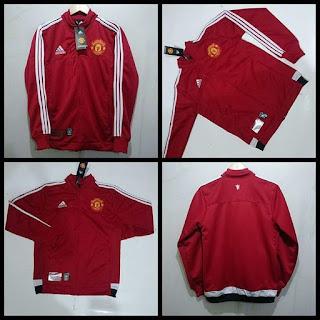 Jaket Manchester United Merah
