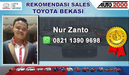 Rekomendasi Sales Toyota Bintara Bekasi