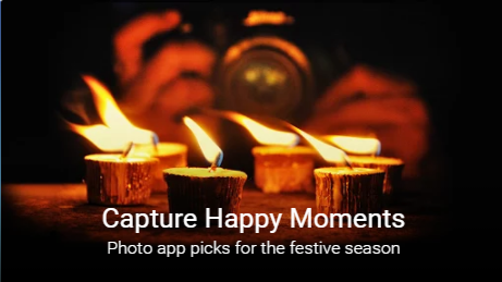 Photo Apps Collection - Capture Festive Moments