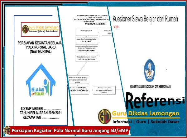 Persiapan Kegiatan Pola Normal Baru Jenjang SD/SMP