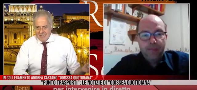 Punto Trasporti - Odissea Quotidiana e Roma di Sera 10 aprile 2020