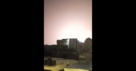 Watch: Gaza's Muslim terrorists hit by Israeli airstrikes after launching rockets at southern Israel