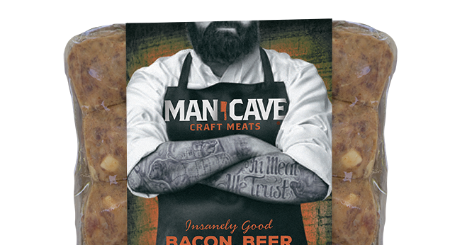 Man Cave Craft Eats Bacon : Product review man cave craft meats munchie musings