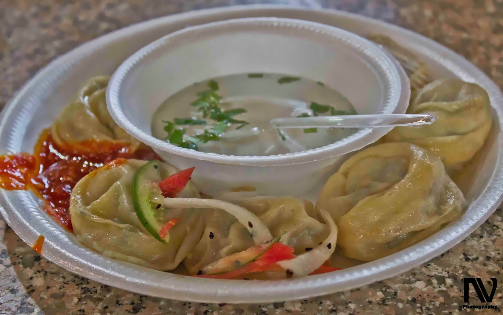 Steamed Pork Momos
