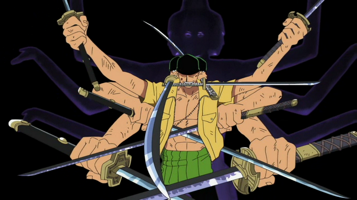 Roronoa Zoro merupakan salah satu dari trio petarung terkuat kelompok bajak maritim Topi Jer 7 Hal Misterius perihal Roronoa Zoro yang belum dijelaskan oleh Oda (One Piece)