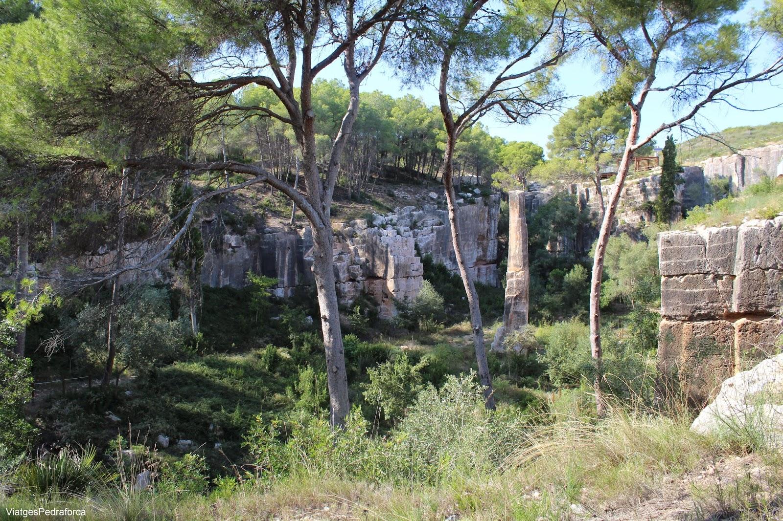 Pedrera romana del Medol Tarragona Conjunt Arqueologic de Tarraco Patrimoni de la Humanitat  Unesco