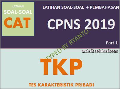 Soal CPNS TKP 2019/2020 Beserta Pembahasan