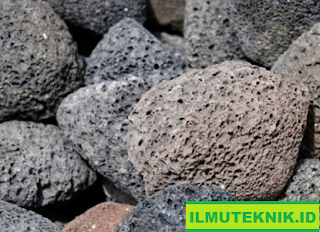 "ILMUTEKNIK.ID ""Batu Magma Dingin atau Batu Apung"""