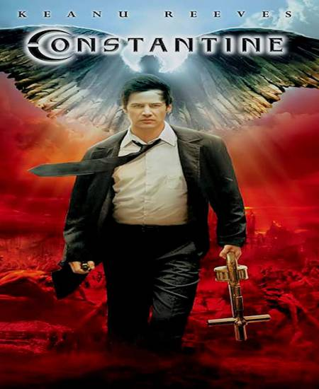 Constantine 2005 Hindi ORG Dual Audio 720p BluRay AAC ESubs Watch Online Full Movie Download