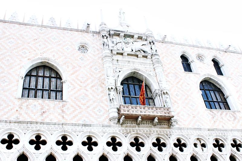 Goticki stil Duzdeva palata u Veneciji na trgu Svetog Marka.