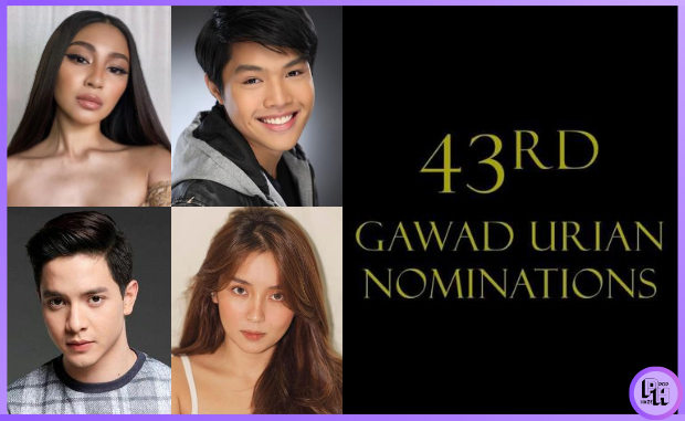 Nadine Lustre, Elijah Canlas, Alden Richards, and Kathryn Bernardo for Gawad Urian Nominees 2020