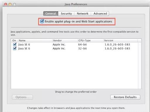 Cara mengaktifkan Java Plugin yang Disable Pada Mac OSX