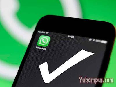 cara membuat whatsapp centang satu