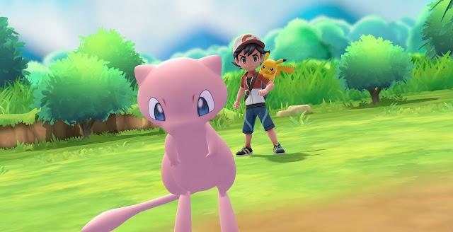 E3 2018: Pokéball Plus terá Mew como presente especial para Pokémon Let's Go!