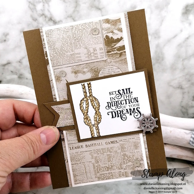 Stampin' Up! Come Sail Away DSP