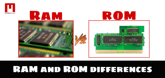 RAM and ROM differences and types Complete information | English | 2019