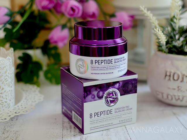Антивозрастной крем с пептидами Enough 8 Peptide Sensation Pro Balancing Cream отзыв