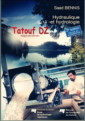 Livre : Hydraulique et hydrologie - 2e édition Saad Bennis  PDF