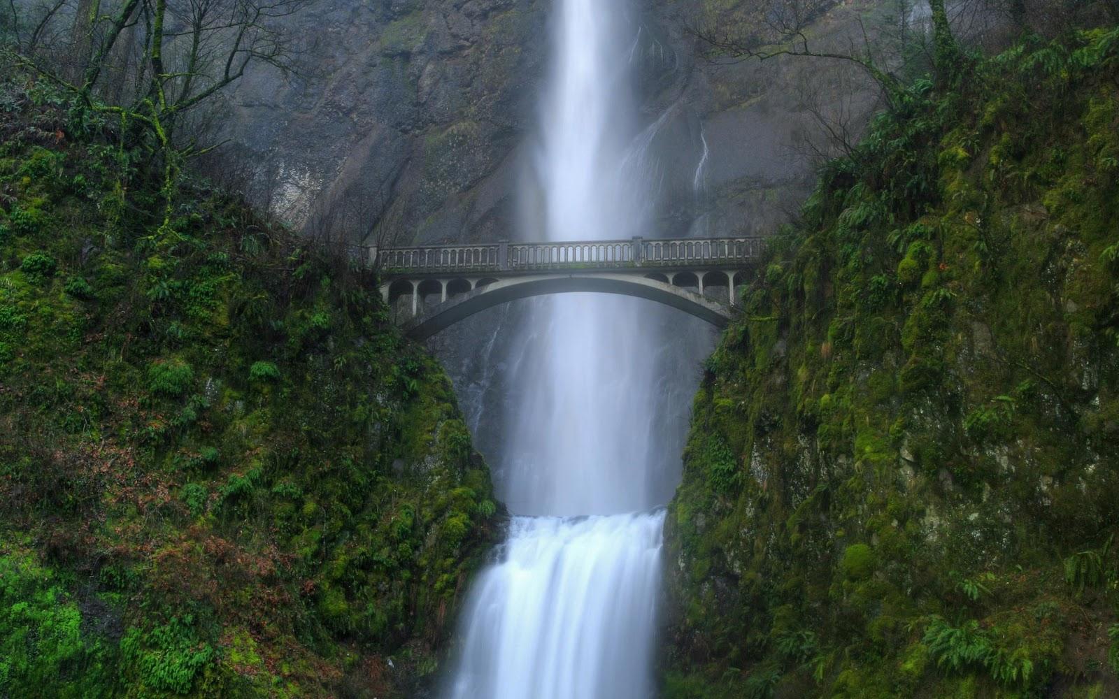 Pemandangan Air Terjun Di Indonesia Foto Dunia Alam Semesta