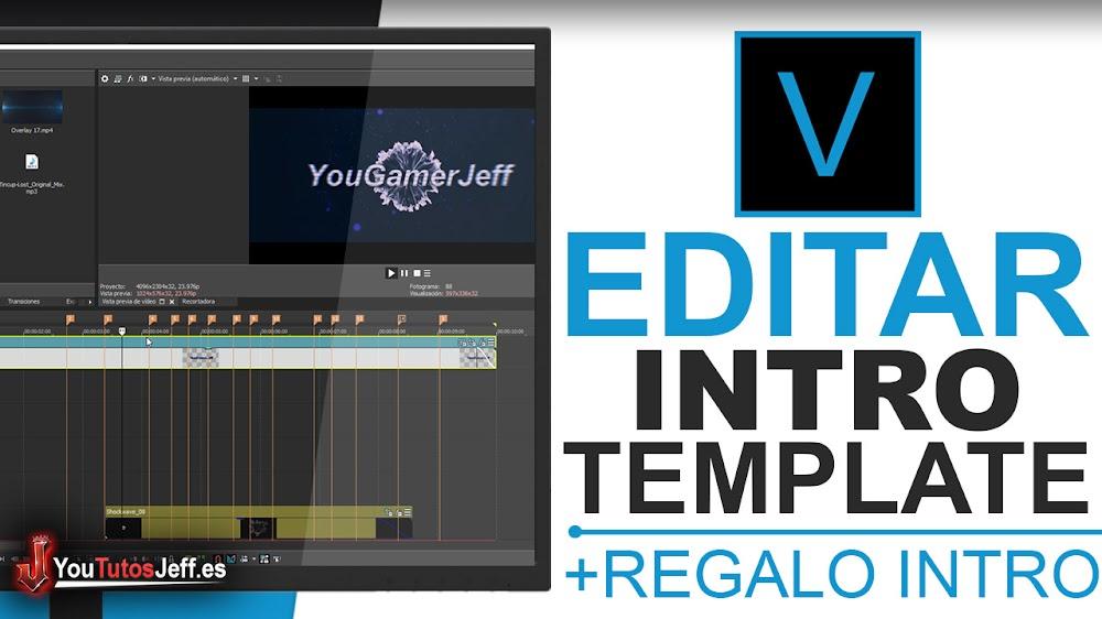 Como Editar una Intro con Sony Vegas Pro 15 - Editar Sony Vegas Pro