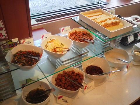 ビュッフェコーナー:漬物 札幌東急REIホテル サウスウエスト