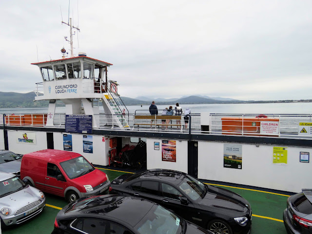 Aboard the Carlingford Ferry