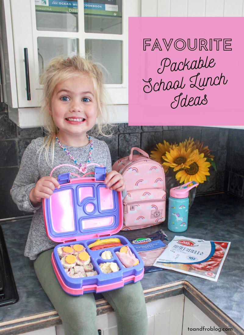 Favourite Packable Kid-Friendly School Lunch Ideas