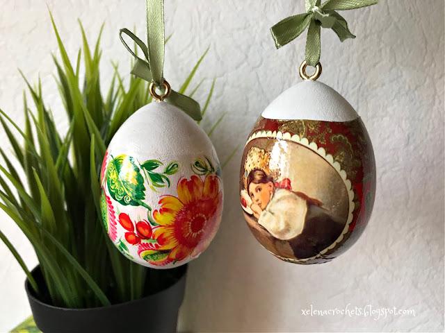 как украсить термоусадочной пленкой деревянное яйцо