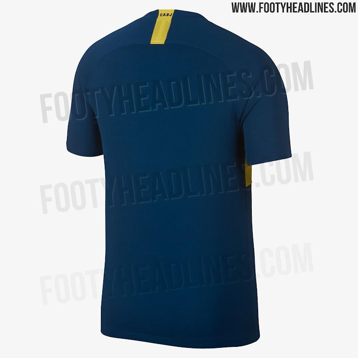 9270c3922b6d7 Boca Juniors 18-19 Home & Away Kits Released - Footy Headlines