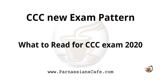 CCC exam paper in hindi | CCC new syllabus 2020| CCC online test | ParnassiansCafe