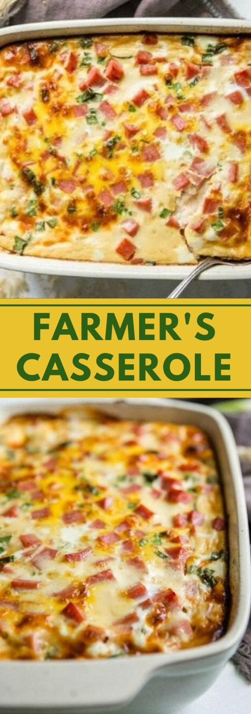FARMER'S CASSEROLE #dinner #casserole #healthylunch #easy #food