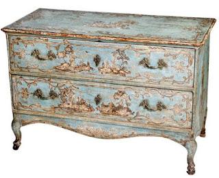 Muebles pintados a mano reciclar y decorar con la t cnica Muebles antiguos pintados a mano