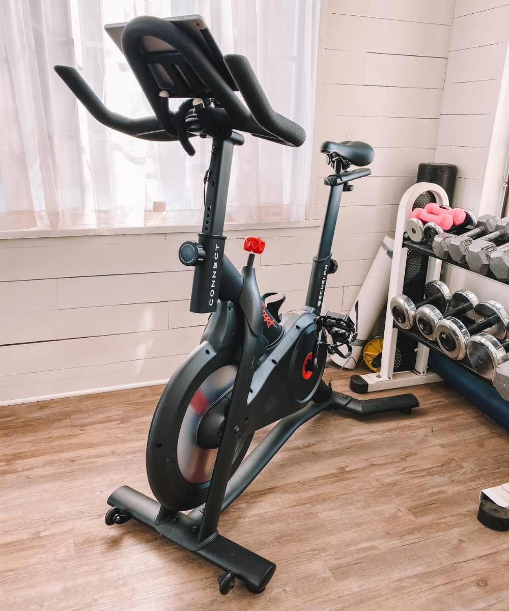 Echelon Connect Sport bike is an excellent Peloton dupe for a fraction of the cost!