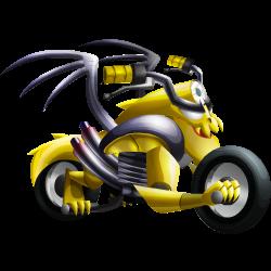 Dragon Moto apparence jeune
