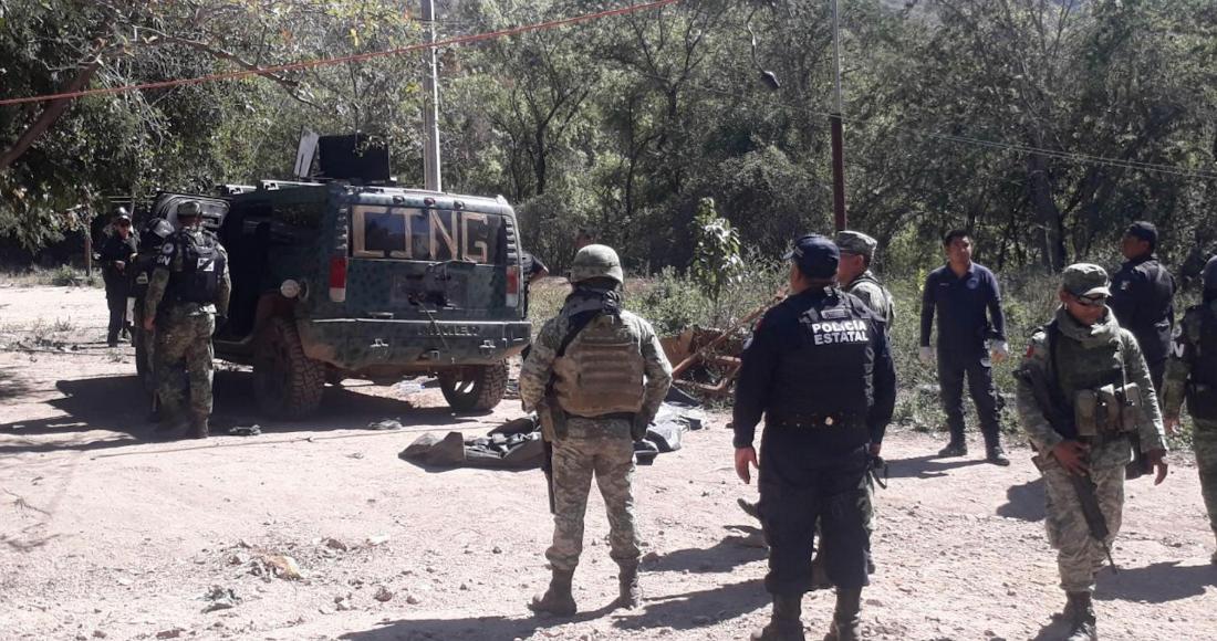 Fuerte topon entre sicarios y policías en Zirándaro, Guerrero, dejan tres muertos y un policía estatal herido