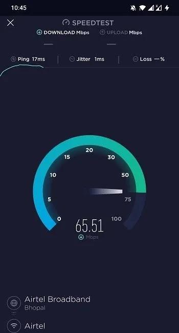 تطبيقات اختبار سرعة الإنترنت Speedtest