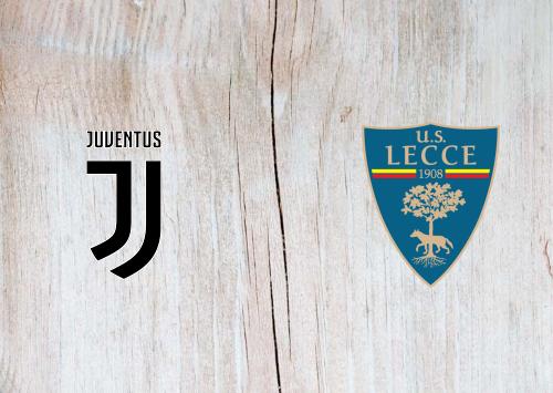 Juventus Vs Lecce Full Match Highlights 26 June 2020