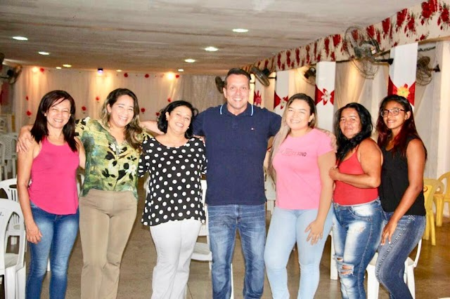 Vereador Eriko Jácome recebe apoio de Sandra Santos suplente de vereador em Natal