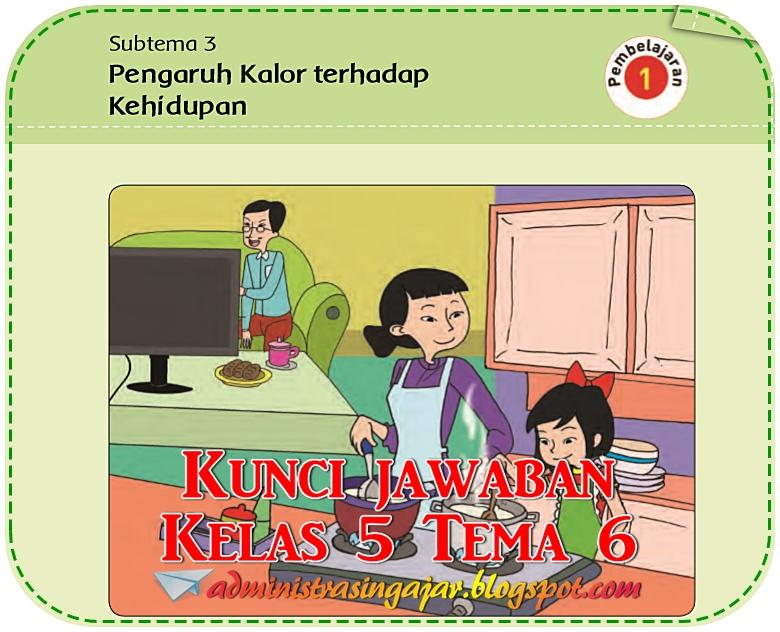 Kunci Jawaban Buku Tematik Tema 6 Kelas 5 Halaman 138 139 141 142 143 Administrasi Ngajar